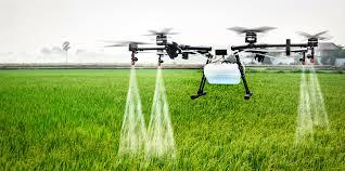 spraying drones