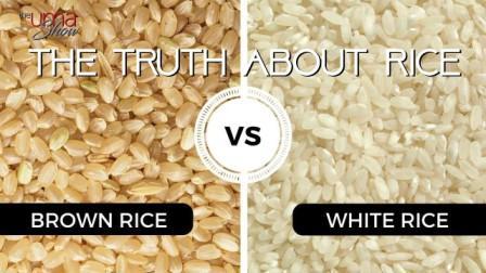 white vs brown rice