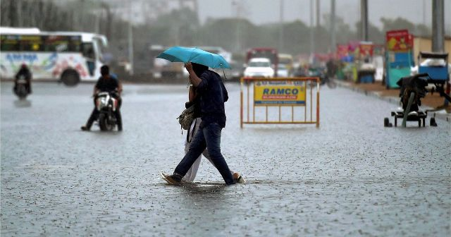 rains to increase over 2 days
